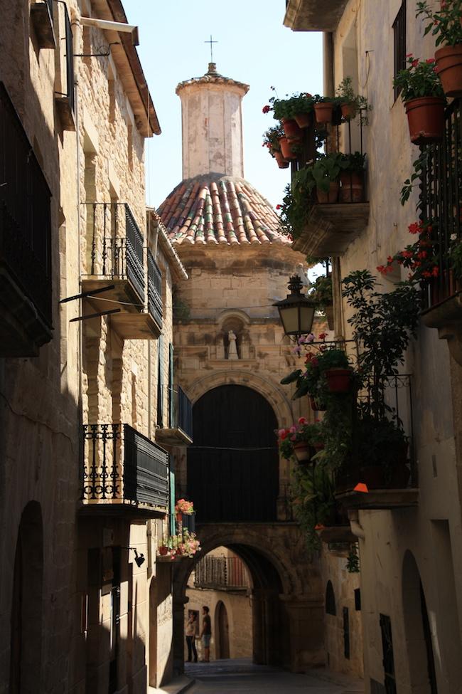 Calaseit: portal capilla de San Antonio
