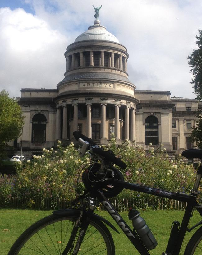 Bruselas en bicicleta