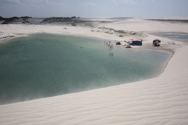 lagoa coraçao Jericoacoará