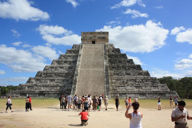 Pirámide de Chichen Itza