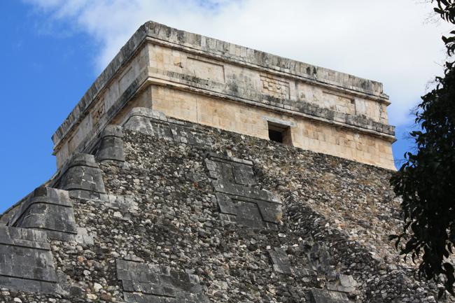 Pirámide de Chichen Itza: templo