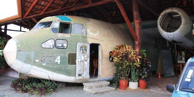 Restaurante El Avión en Manuel Antonio (Costa Rica)