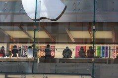 en el apple store de sydney