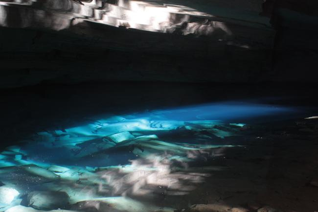 gruta azul lencois