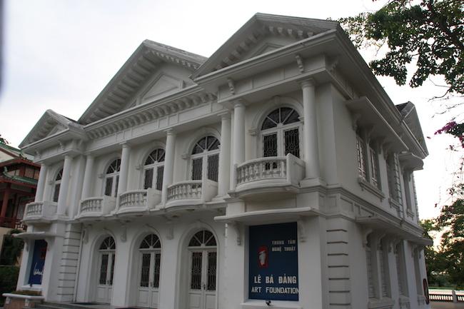 Palacete francés en Hué