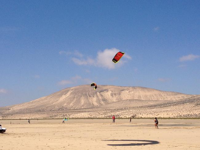 Kite surf en Fuerteventura