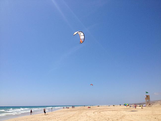Kite en Fuerteventura