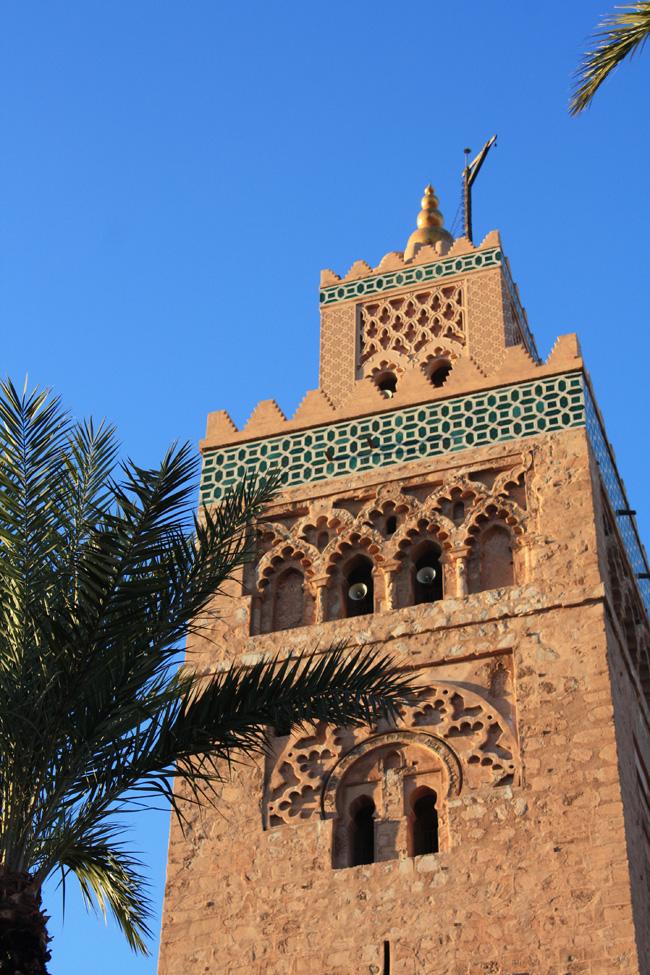 La Koutubia es un monumento símbolo de la ciudad ¿te resulta familiar? es el mismo arquitecto que la Giralda de Sevilla
