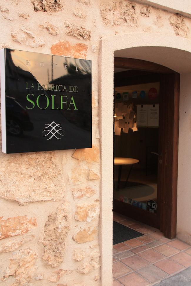 Hotel La Fábrica de Solfa en Beseit