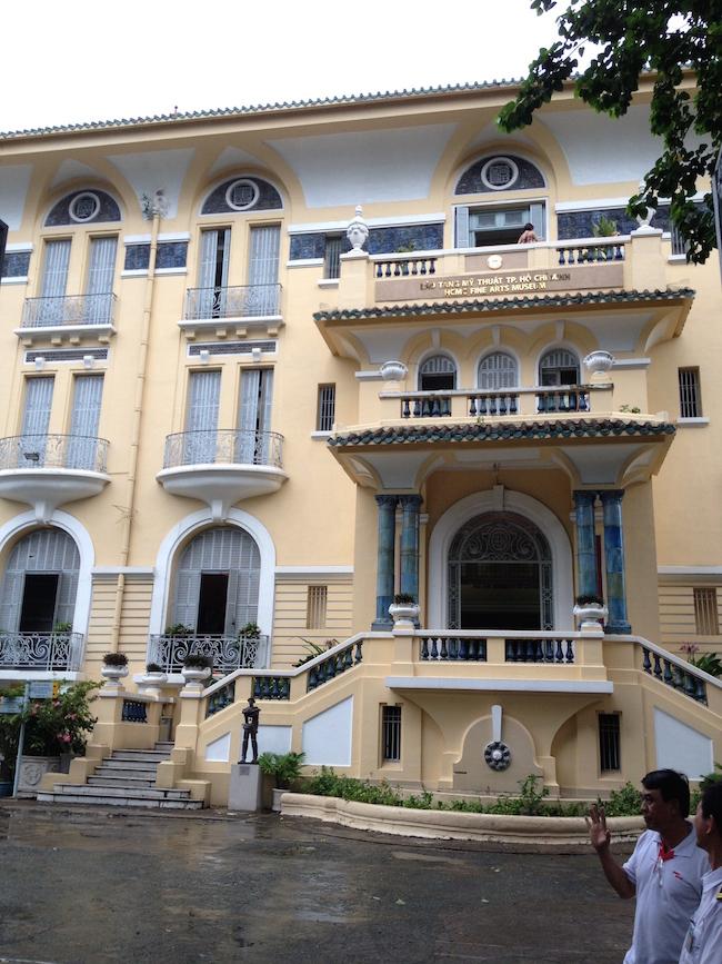 El Museo de Bellas Artes es otro ejemplo de bonita arquitectura colonial