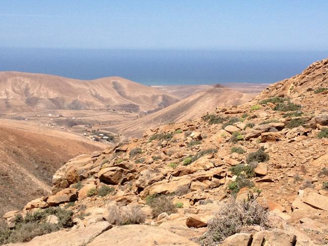 Paisaje de Fuerteventura