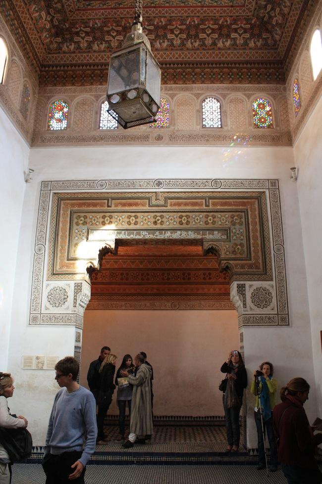 Una de las salas del Palacio de la Bahia