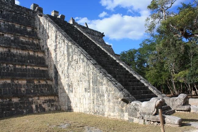 templo del Dios descendiente de Chichén Itzá