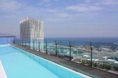 piscina del Hotel BCN Princess