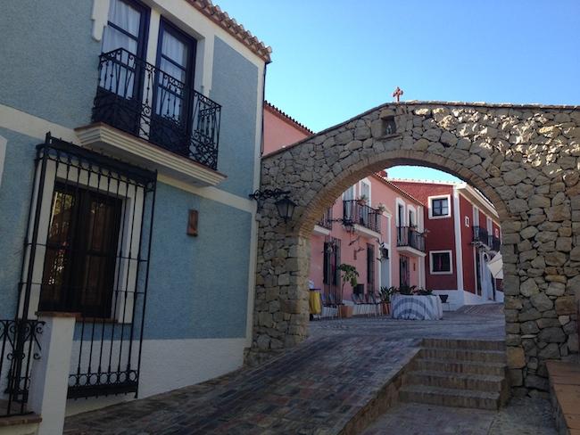 Pueblo Acantilado Suites Callecita