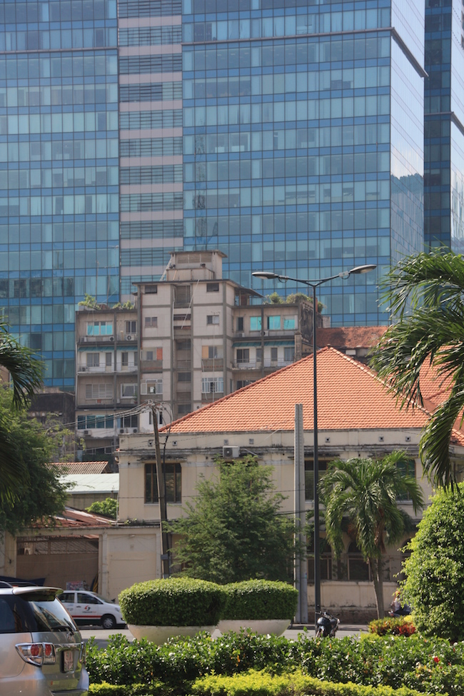 Ese es el edificio que reconocerás en las fotos en blanco y negro...