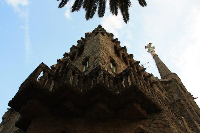 Torre Bellesguard: balcón