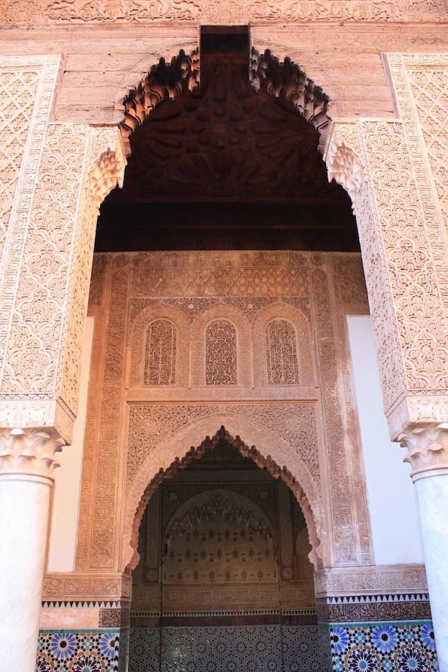 Detalle de las puertas de una de las salas