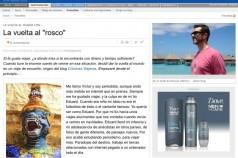 reseña de crónicas viajeras para La Vanguardia