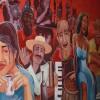 mural al lado de la Piojera